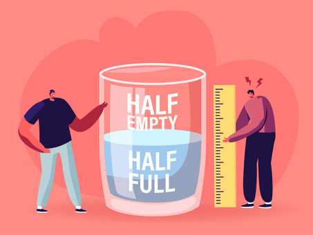 On the brighter side of things. Covid – a cup, half full.