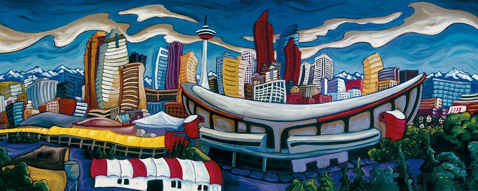 Fred Peters - Calgary Diptic