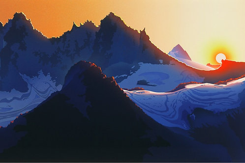 RJ32 - Sunset at Mount Fee