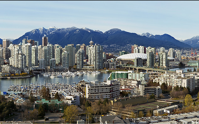 """""""Vancouver Skyline, Fall Afternoon"""" - British Columbia"""