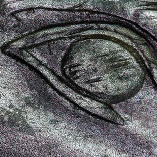 April White Closeup