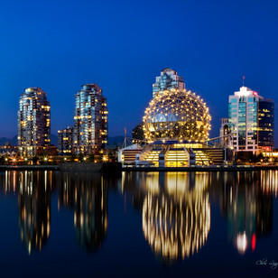 """Science World  & Telus Centre"" - British Columbia"