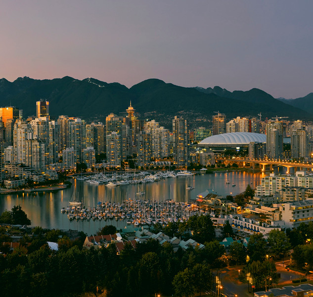 """""""Vancouver at Dusk"""" - British Coumbia"""