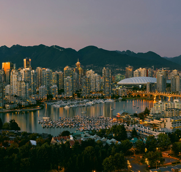 """Vancouver at Dusk"" - British Coumbia"
