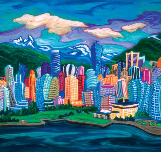 "FP36  ""Vancouver Skyline"""