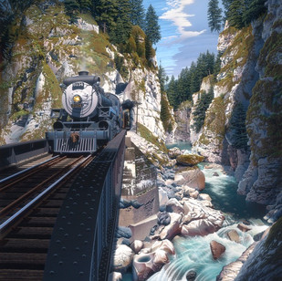 """RJ70  """"Othello Canyon"""""""