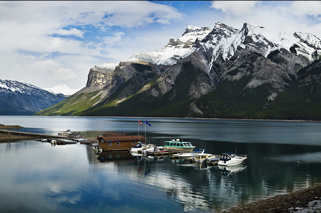 """Lake Minnewanka"" - Alberta"