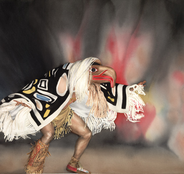 """AW6  """"Potlatch Dancer"""""""