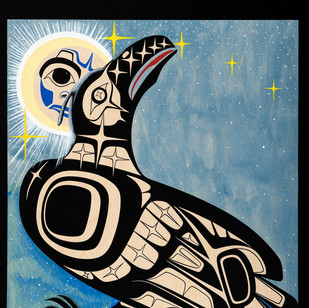 """PW8  """"Raven as Self in Cosmosis"""""""