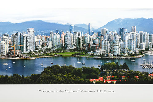 Chris Ling - Vancouver in the Afternoon
