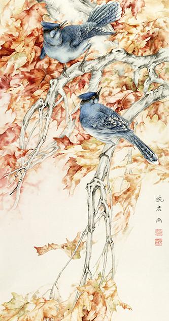 "WL9  ""Blue Birds"""