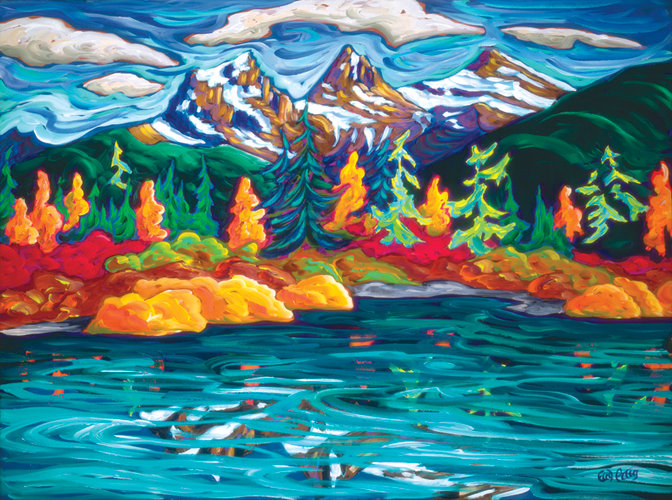 Fred Peters - 3 Sisters in the Fall