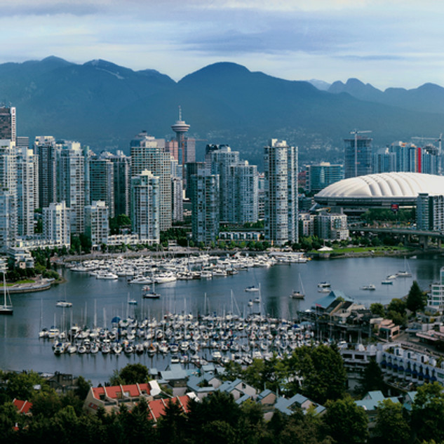 """""""Vancouver in the Afternoon"""" - British Columbia"""