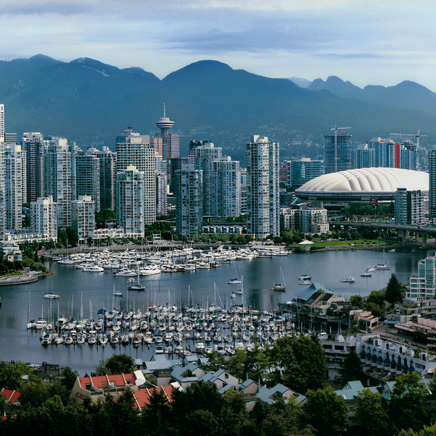 """Vancouver in the Afternoon"" - British Columbia"