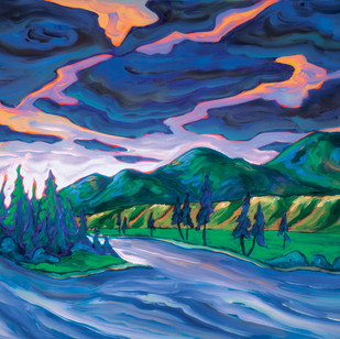 """FP40  """"South Thompson River"""""""