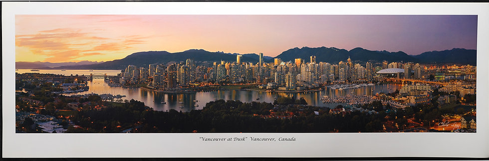 Chris Ling - Vancouver at Dusk
