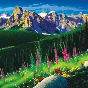 """RJ36  """"Valley of Ten Peaks"""""""