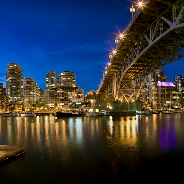"""View from Granville Island"" - British Columbia"