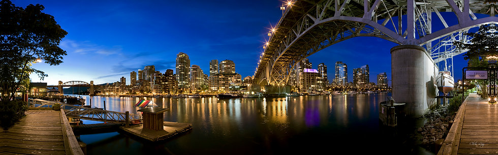 Chris Ling - View from Granville Island