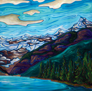 """FP16  """"Lake Louise Right"""""""