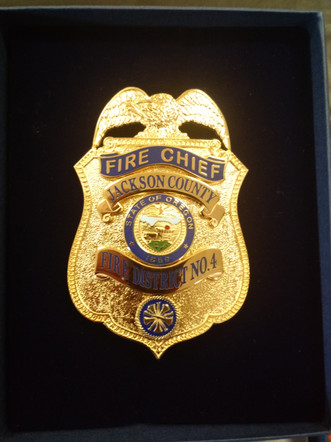 JCFD4 Chiefs Badge