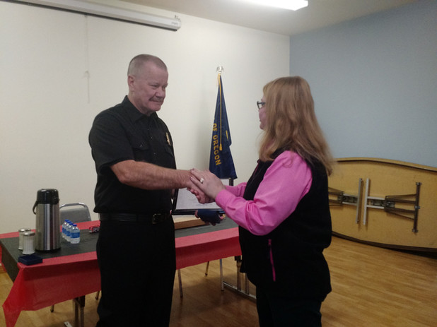 Board members welcome new Chief