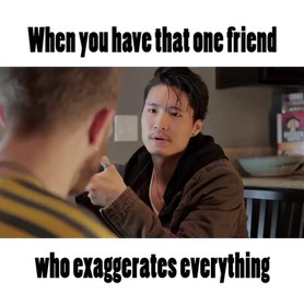 We all have that one friend 😜_•_•_•_New