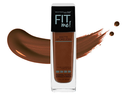 Maybelline Fit Me Matte Foundation (Deep Bronze)370