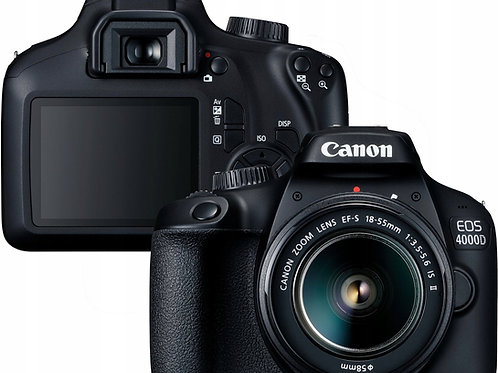 Canon Digital SLR Camera EOS 4000D 18-55 DC