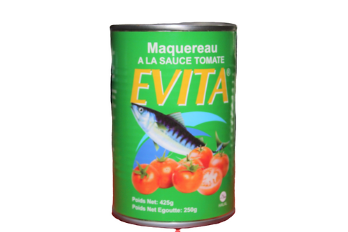 Evita Mackerel Tomato Sauce -425g