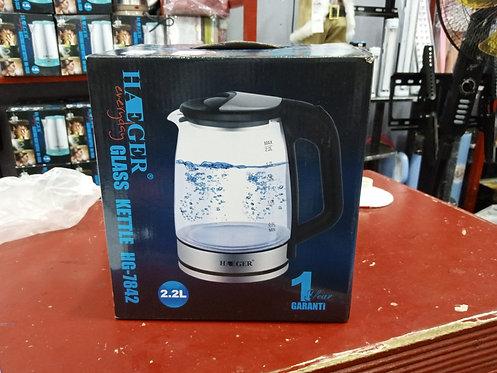 Haeger Glass Kettle HG -7842