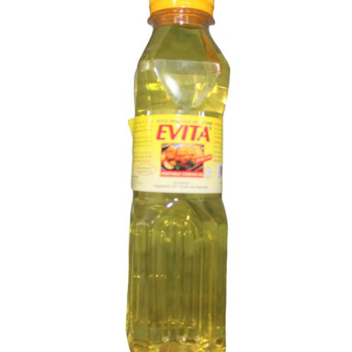 Evita Vegetable Oil bottle