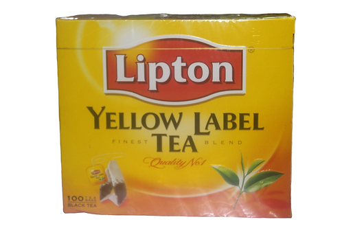 Lipton YELLOW LABEL TEA.