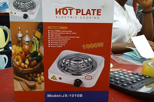 Hot Plate Electric Cooking 1000W Model:JX-1010B