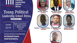 Young Political Leadership School to start Next Monday