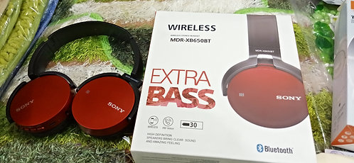 Wireless stereo headset MDR-XB650BT