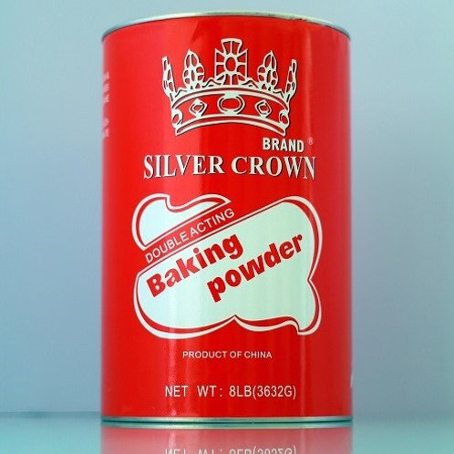 Silver crown brand baking powder