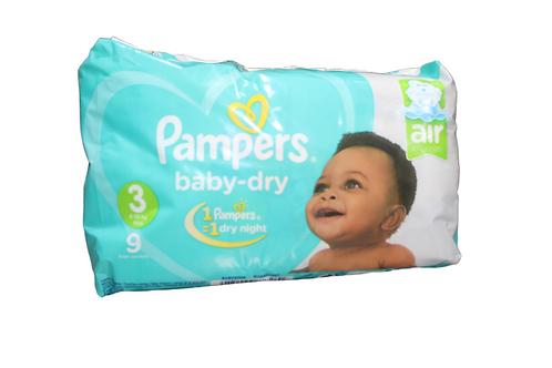 Pamper Baby-Dry