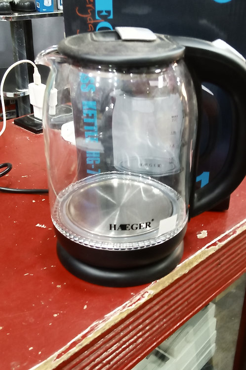 Haeger Glass Kettle HG 7833