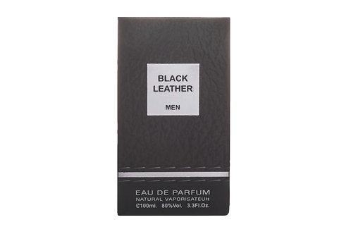 Black Leather - Men - Eau De Parfum - 100ml (3.3 Fl. oz) by Fragrance World