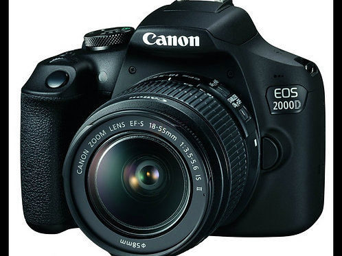 Canon Digital SLR Camera,EOS 2000D BK 18-55 EU26 (DC)