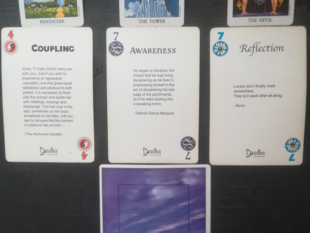 Intuitive Reading for 17/09/2020 - Awareness & Reflection