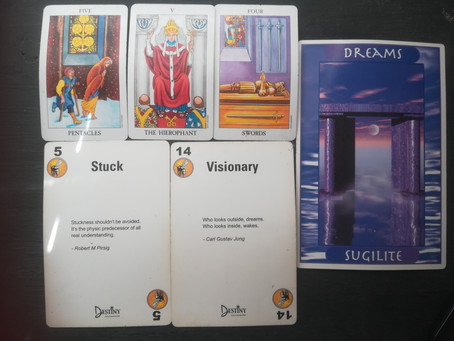 Intuitive Reading for week of 09/08/2020 to 15/08/2020