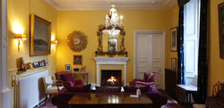 Fireside at Thrumster House