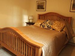 Bedroom in the Garden Apartment