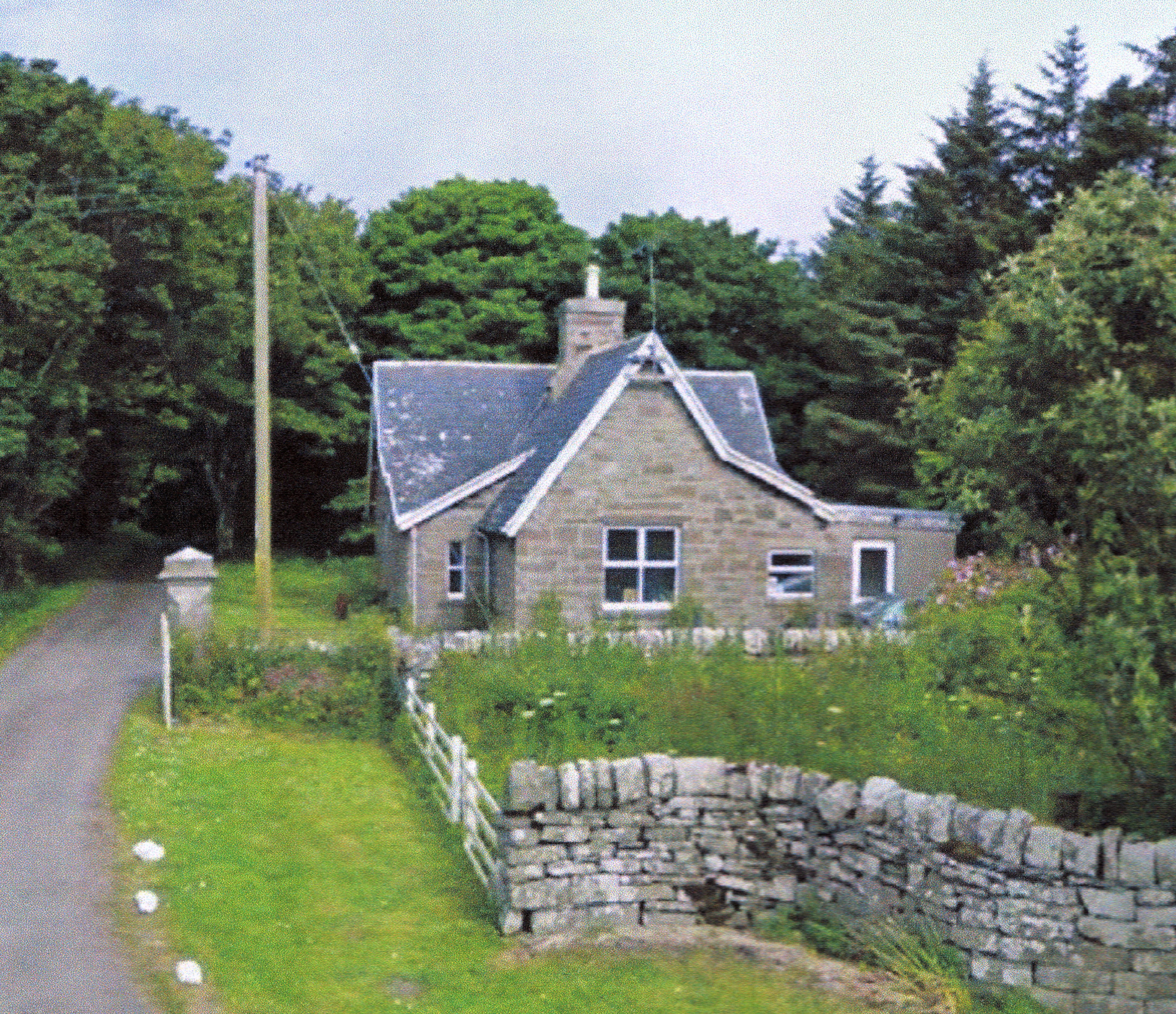 The Lodge house on the NC500