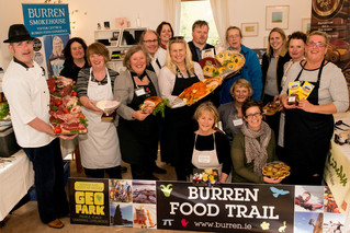 BURREN FOOD TRAIL winners of EDEN 2015 Award featured in the Press