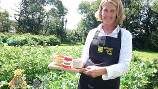 Clareville House Kitchen Garden features in Burren Food Video
