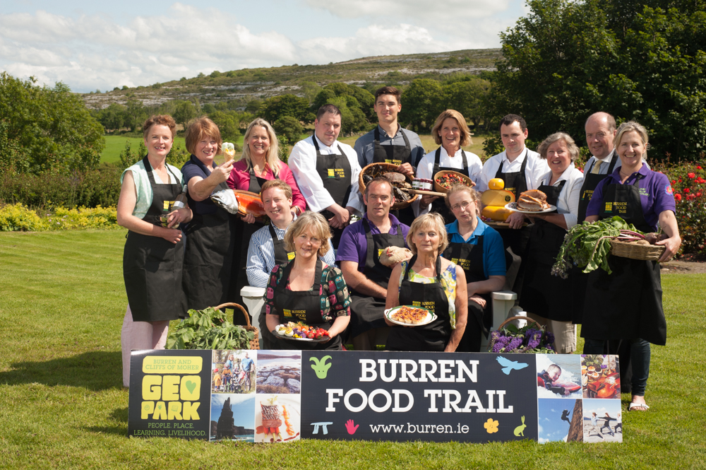 Burren Food Trail wins EU EDEN Award Destination of excellence in Sustainable To