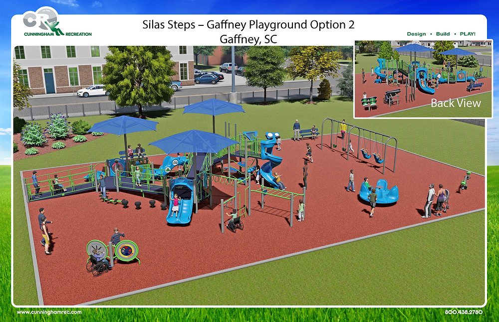 Proposed Accessible Playground Mockup